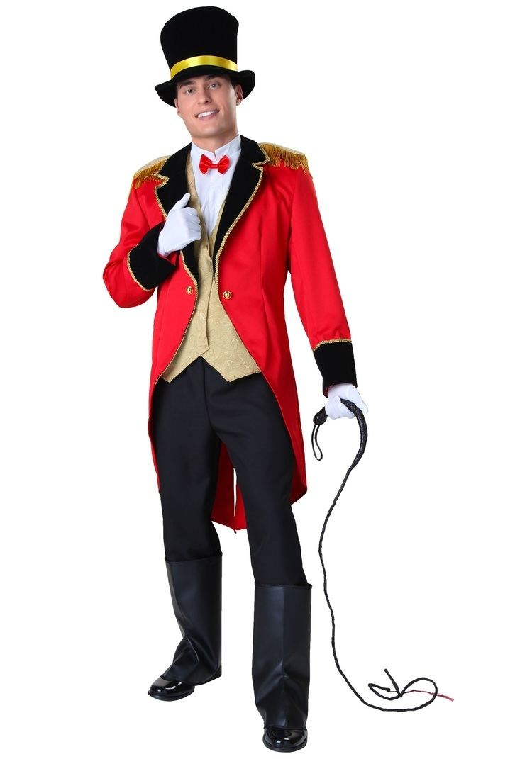 Ring Master Ringmaster Costumes Adult Sexy Ring Master Halloween Costume