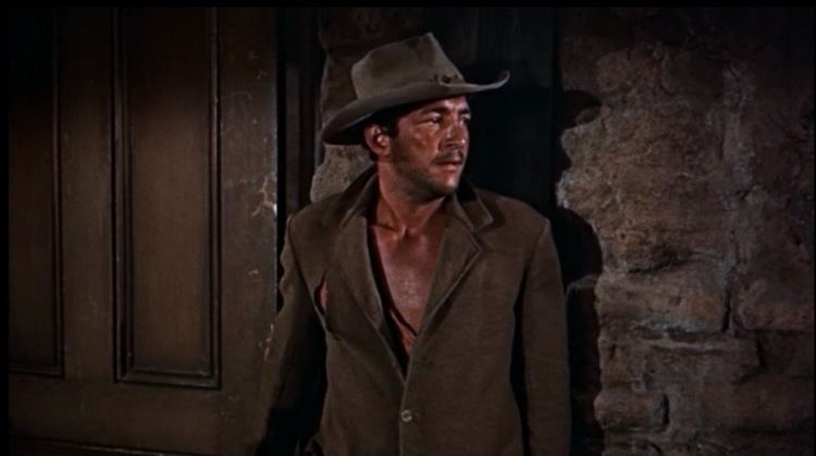 Rio Bravo (1959 film) movie scenes Dean grabs your attention from the very beginning Photo Courtesy of http www hilobrow com