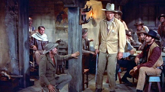 Rio Bravo (1959 film) movie scenes Dedicated Tarantino enthusiasts will know that the director actually lists Rio Bravo as his favorite film of all time He loves the film so much he even