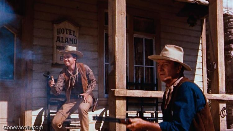 Rio Bravo (1959 film) movie scenes Aside from an occasional shootout however Rio Bravo is a film about inaction in many ways the good guys defending against a threat in slow motion