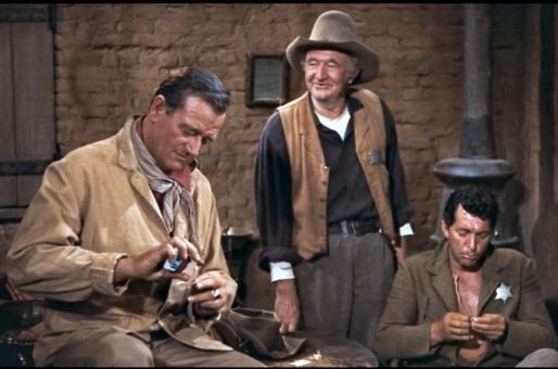 Rio Bravo (1959 film) movie scenes One of the few things I disliked about studying cinema at New York University was the constant politicization of movies As a student I was frequently