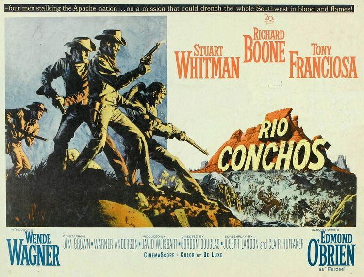 Rio Conchos (film) Rio Conchos 50 Furious Westerns Series FuriousCinemacom