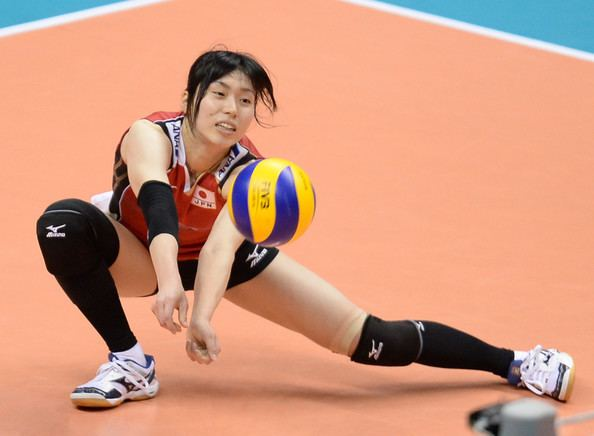 Risa Shinnabe Risa Shinnabe Pictures Japan v China FIVB World Grand