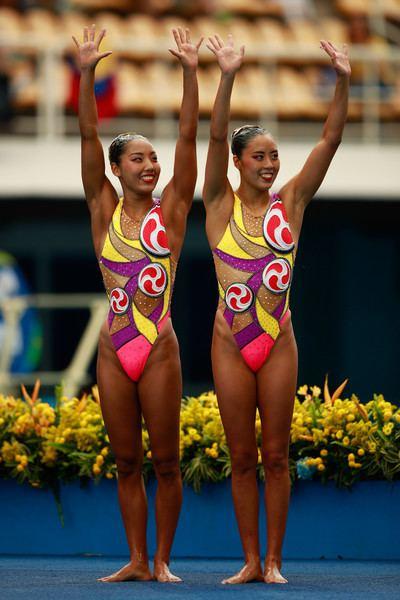 Risako Mitsui Risako Mitsui Photos Photos Synchronised Swimming Olympics Day
