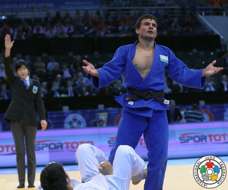 Rishod Sobirov JudoInside News Rishod Sobirov back at World level