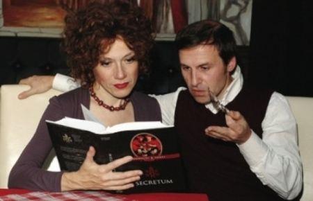 Rita Monaldi Rita MONALDI et Francesco SORTI sontils en train de r