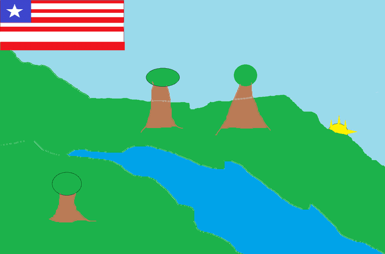 River Gee County River Gee County Liberia MS Paint recreation vexillology