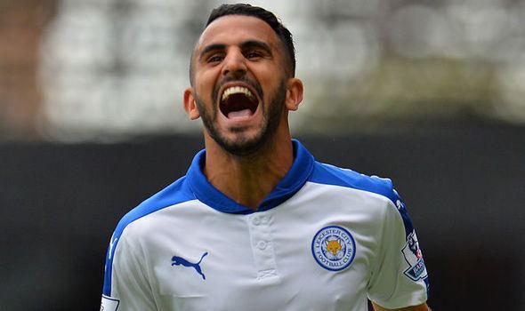 Riyad Mahrez Agent Leicester39s Riyad Mahrez not interested in Arsenal