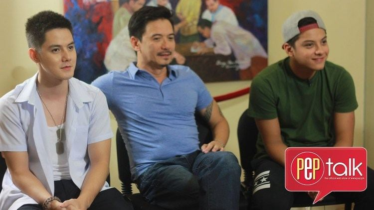 RJ Padilla PEPtalk Rommel Daniel and RJ Padilla talk about their new movie