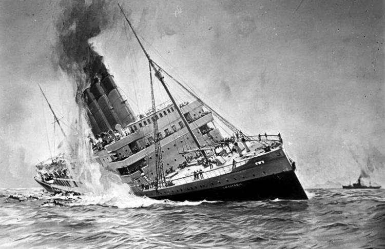 RMS Lusitania Sinking of the RMS Lusitania Wikipedia