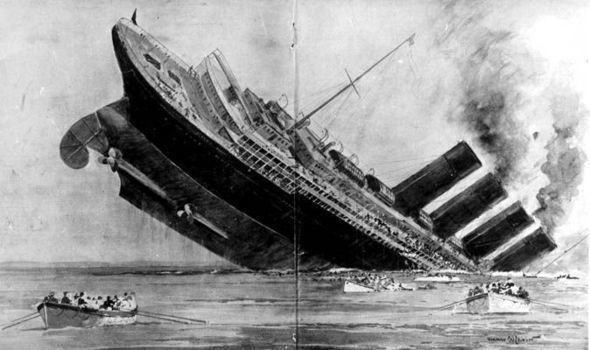 RMS Lusitania Sinking of the giant Lusitania Why did the huge liner go down so