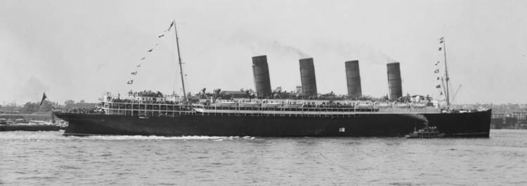 RMS Lusitania RMS Lusitania Midleton with 1 39d39