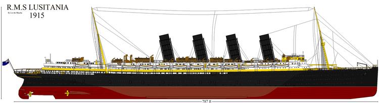 RMS Lusitania RMS Lusitania 1915 by CrystalEclair on DeviantArt