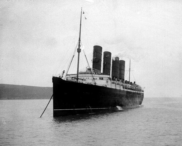 RMS Lusitania RMS Lusitania sinking Incredible new undersea images shows WWI