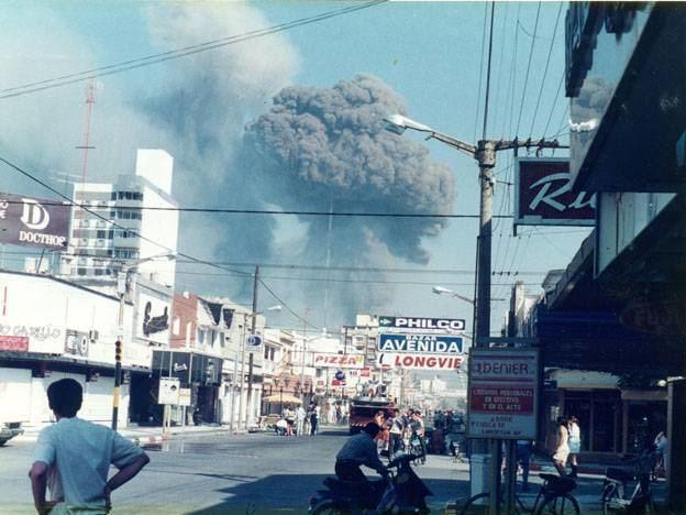 Río Tercero explosion 03 de Noviembre Explosin de Ro Tercero Crdoba Efemerides