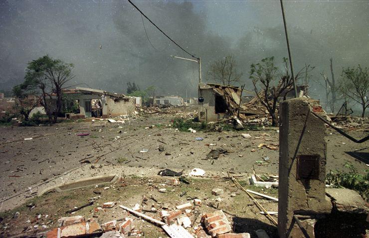 Río Tercero explosion Ro Tercero a 20 aos de la explosin de la Fbrica Militar