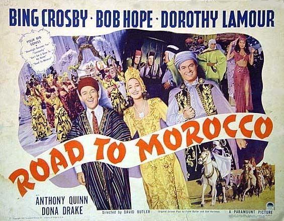 Road to Morocco movie scenes Road to Morocco 1942 Half FilmFan Remembers 565x440 Movie index com