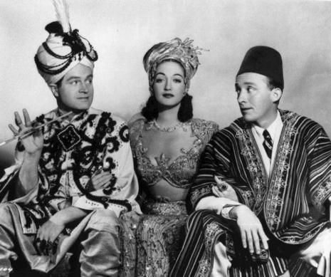 Road to Morocco movie scenes  L R Bob Hope Dorothy Lamour and Bing Crosby in a scene
