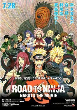 Road to Ninja: Naruto the Movie movie poster