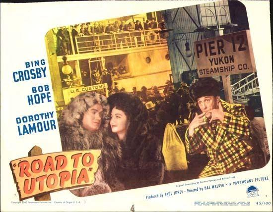 Road to Utopia Road to Utopia original US Lobby Card number 3 Movie Poster Studio 769