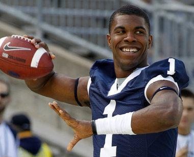 Rob Bolden A look at Penn State true freshman quarterback Rob