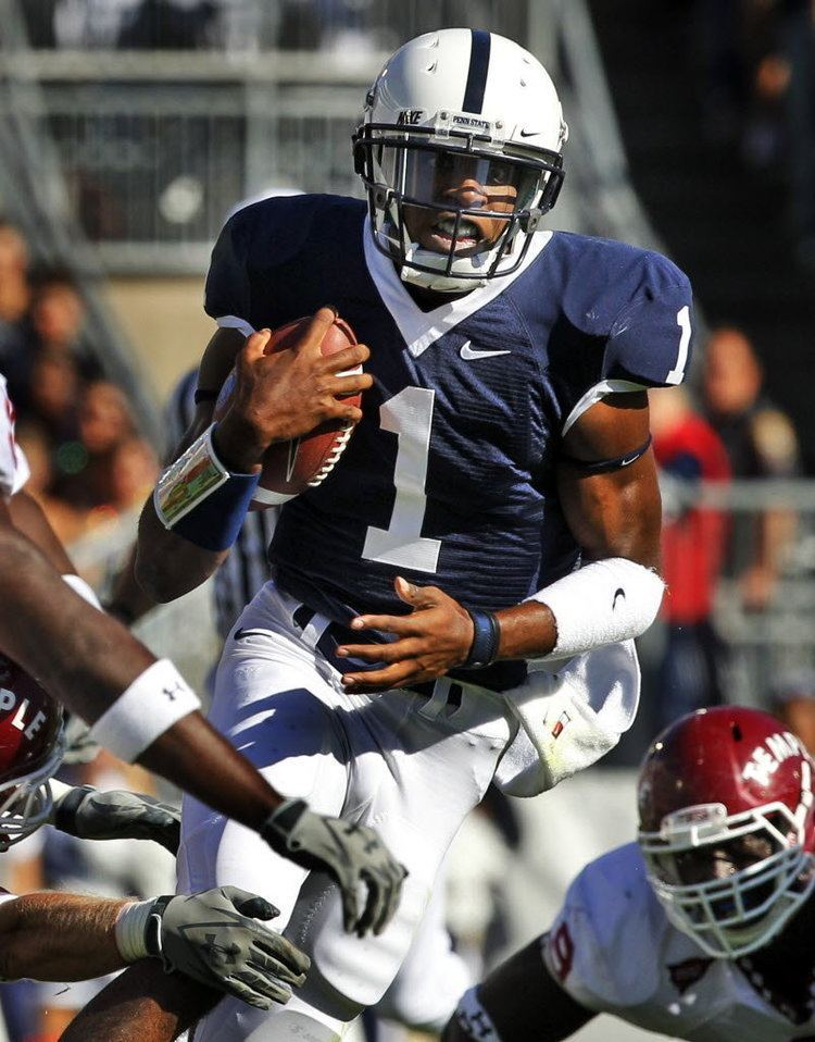 Rob Bolden Quarterback Rob Bolden will transfer out of Penn State