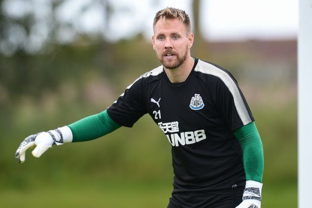 Rob Elliot Rob Elliot ready to fight for Newcastle No1 shirt after missing