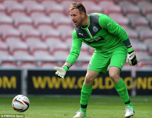 Rob Elliot Newcastle United goalkeeper Rob Elliot set to fill in for injured