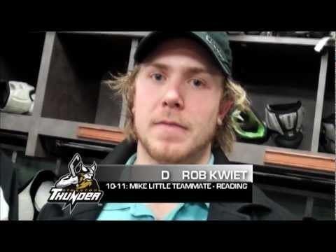 Rob Kwiet GAME DAY Stockton Thunder Morning Skate Comments vs Utah