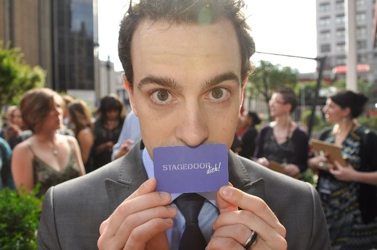 Rob McClure Stage Door Dish Star of the Week Why Rob McClure is