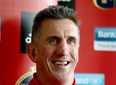 Rob Penney Rob Penney Therell still be a little bit of my heart locked in Munster