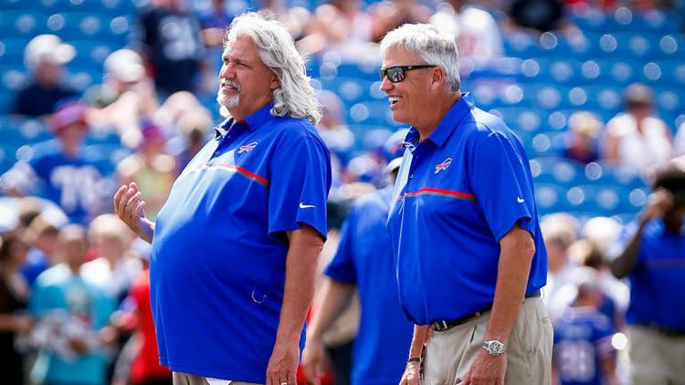 Rob Ryan Rex Ryan has gained 30 pounds since twin brother Rob joined Bills