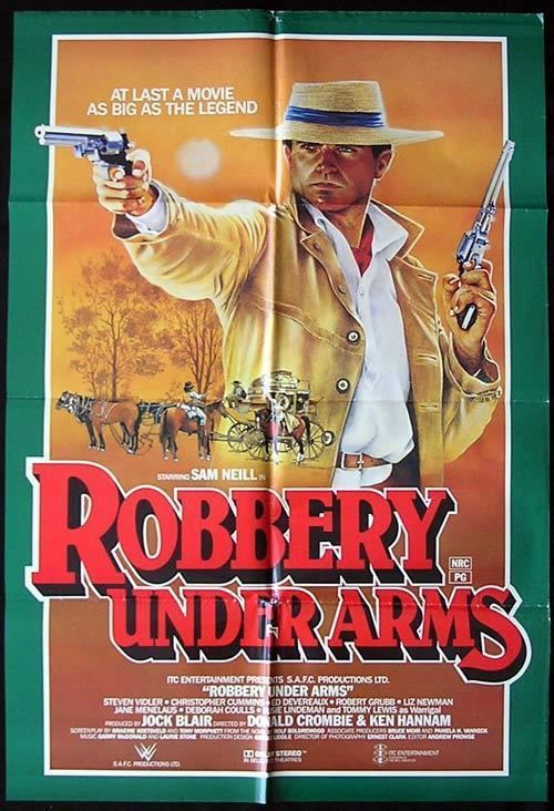 Robbery Under Arms (1985 film) ROBBERY UNDER ARMS 1985 Sam Neill RARE One sheet Movie poster