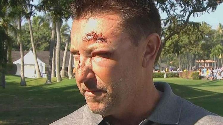 Robert Allenby Robert Allenby sacks caddie during middle of round Golf