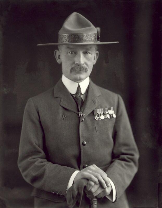 Robert Baden-Powell, 1st Baron Baden-Powell NPG x126435 Robert Stephenson Smyth BadenPowell 1st