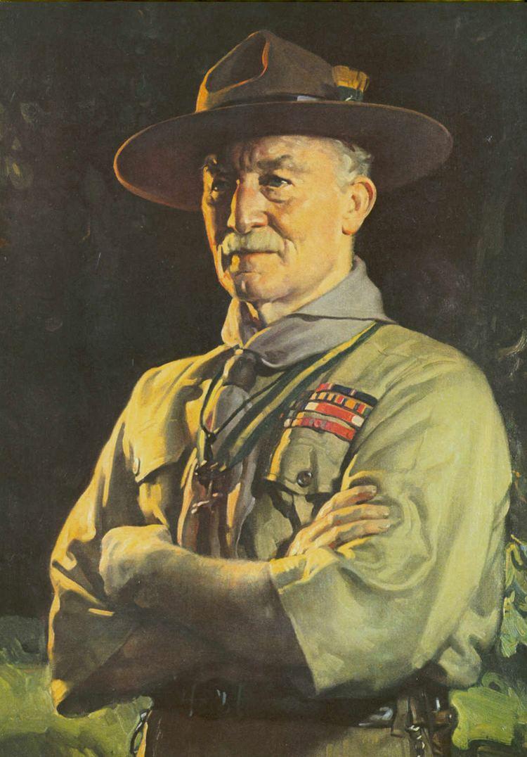 Robert Baden-Powell, 1st Baron Baden-Powell Driwanmasterpiece Cybermuseum ExhibitonThe Lady Olave