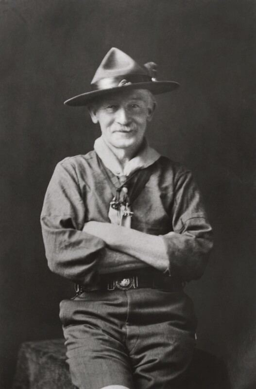 Robert Baden-Powell, 1st Baron Baden-Powell NPG x358 Robert Stephenson Smyth BadenPowell 1st Baron