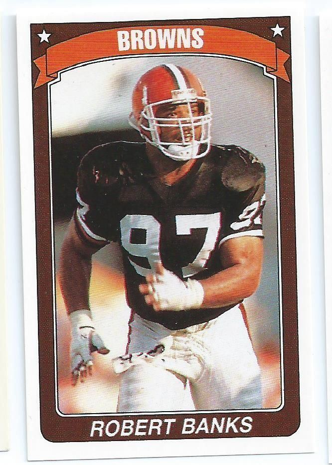 Robert Banks (American football) CLEVELAND BROWNS Robert Banks 33 American Football 9091 UK