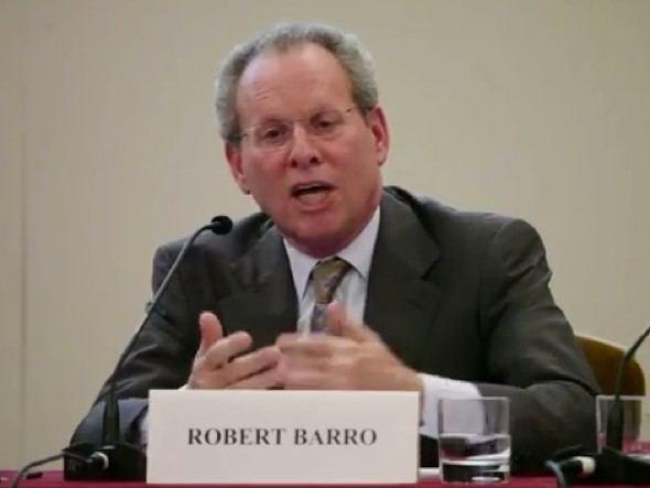 Robert Barro Outspoken AntiStimulus Economist Robert Barro Takes A