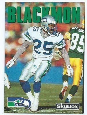 Robert Blackmon SEATTLE SEAHAWKS Robert Blackmon 155 SKYBOX Impact 1992 NFL