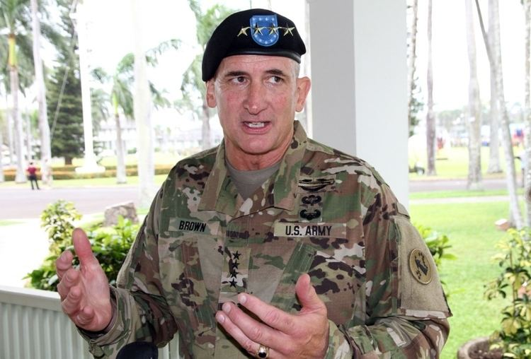Robert Brooks Brown Old hand in Asia takes reins of US Army Pacific Pacific Stripes