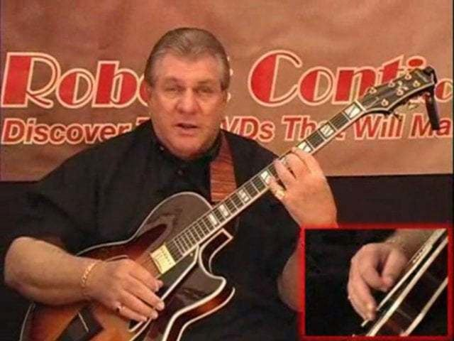 Robert Conti 55 Minute Free Jazz Guitar Lesson on ATrain by Robert