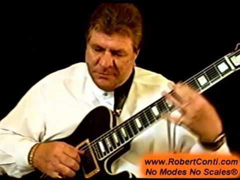 Robert Conti Robert Conti 8 String Jazz Guitar YouTube