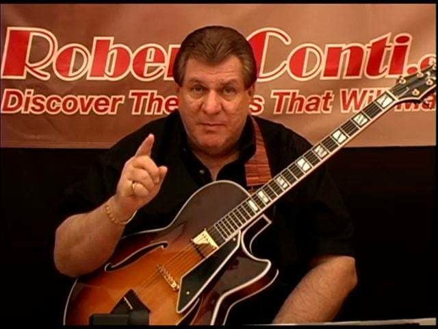 Robert Conti 35 Minute Jazz Guitar Lesson by Robert Conti on Vimeo