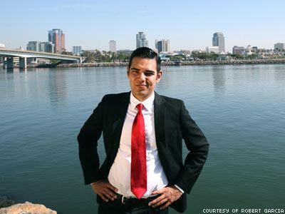 Robert Garcia (California politician) WATCH Openly Gay Mayor Elected in Long Beach Calif