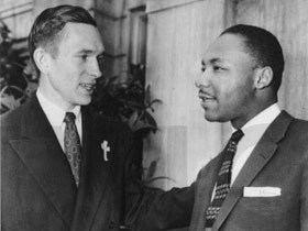 Robert Graetz Martin Luther King and Robert Graetz January 14 2011