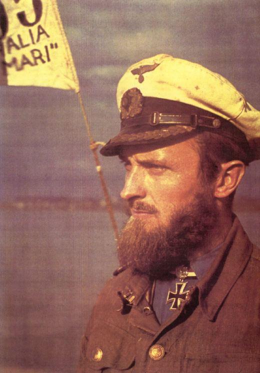 Robert Gysae Third Reich Color Pictures Korvettenkapitn Robert Gysae