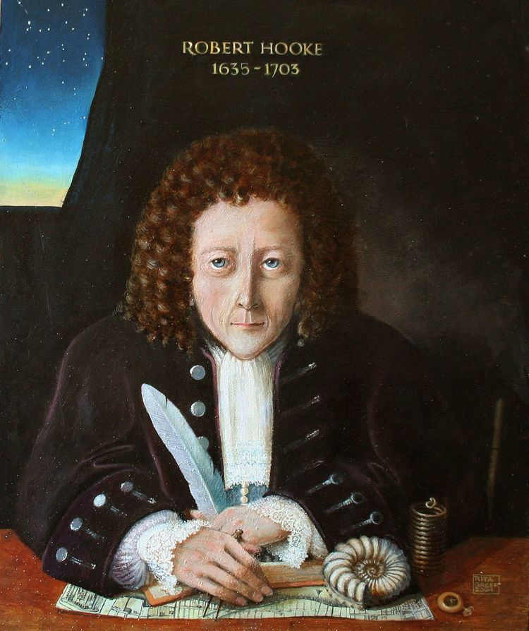 Robert Hooke Robert Hooke Wikipedia