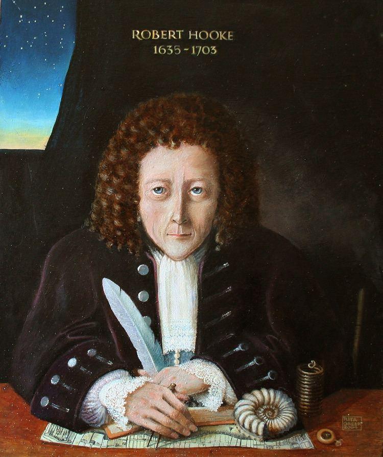 Robert Hooke Robert Hooke Wikipedia the free encyclopedia