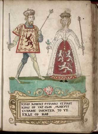 Robert II of Scotland The Two Wives of Robert II King of Scots Elizabeth Mure and
